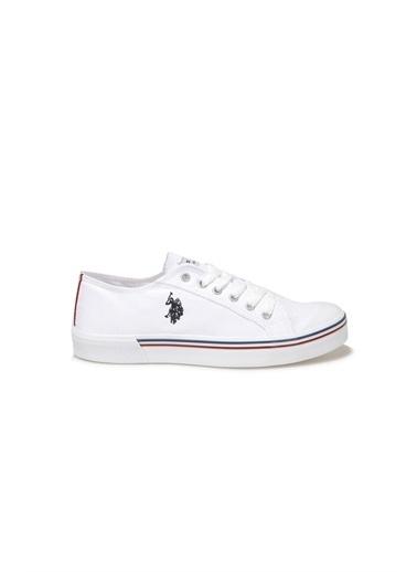 U.S. Polo Assn. Erkek Ayakkabı Penelope 101006272 Beyaz